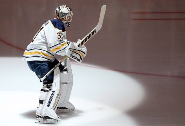 Chad Johnson could be one backup option for the Edmonton Oilers