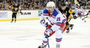 New York Rangers Chris Kreider out six to eight weeks with a blood clot