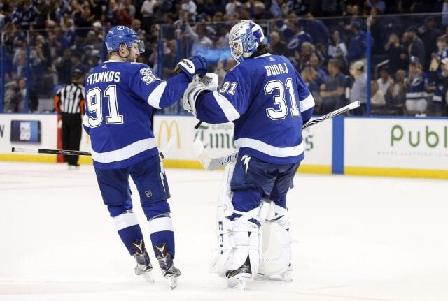 NHL power rankings: The Tampa Bay Lightning site at No. 1