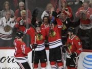 The Chicago Blackhawks are leading in NHL attendance again this season