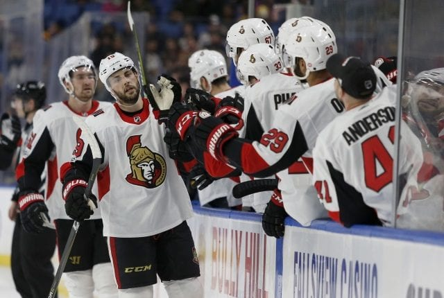Would the Columbus Blue Jackets or Pittsburgh Penguins be interested in Senators center Derick Brassard?