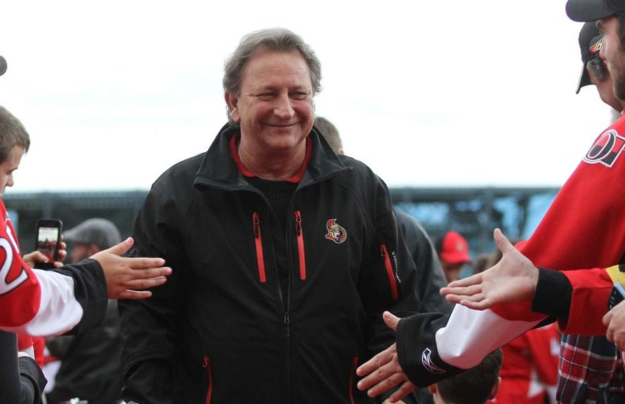 Ottawa Senators owner Eugene Melnyk doesn't hold back with his comments about the franchise