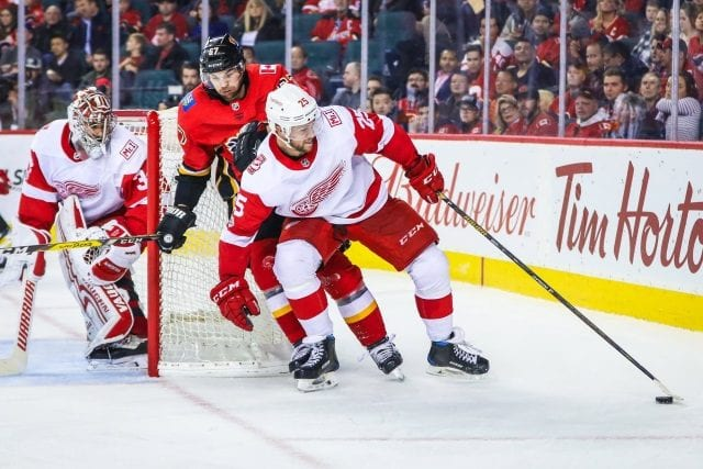 Mike Green and Petr Mrazek