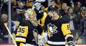 Injury updates for the Penguins including notes on Tristan Jarry and Brian Dumouliln