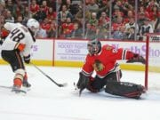 The potential loss of Corey Crawford for the season would create a big hole for the Chicago Blackhawks