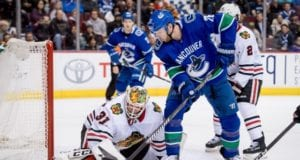 Thomas Vanek knows the Canucks could trade him. The Blackhawks could be in the market for a goaltender.