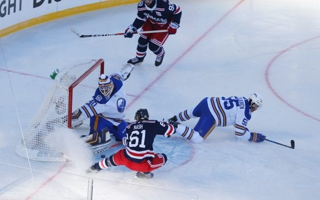 There is some talk the New York Rangers could look at add before the deadline, Brooks thinks they should look to trade Rick Nash.