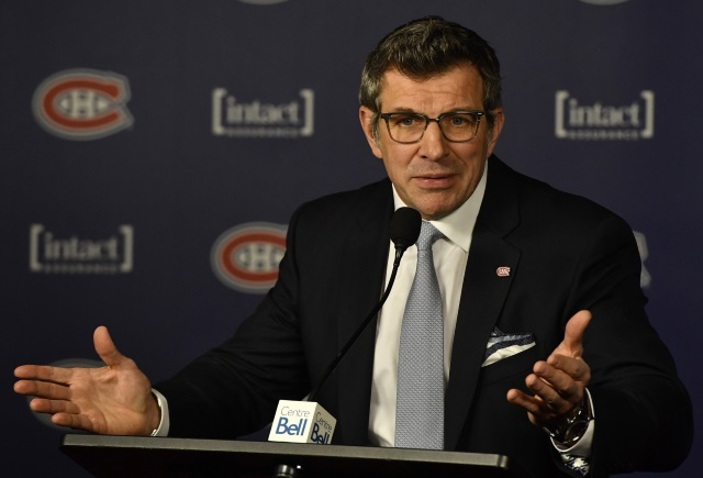 Montreal Canadiens GM Marc Bergevin discusses the state of the Canadiens