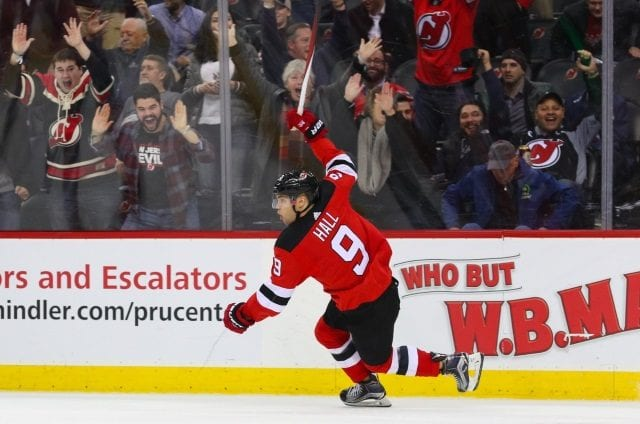 Taylor Hall to return to the Devils lineup