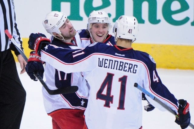 Alexander Wennberg and Brandon Dubinsky