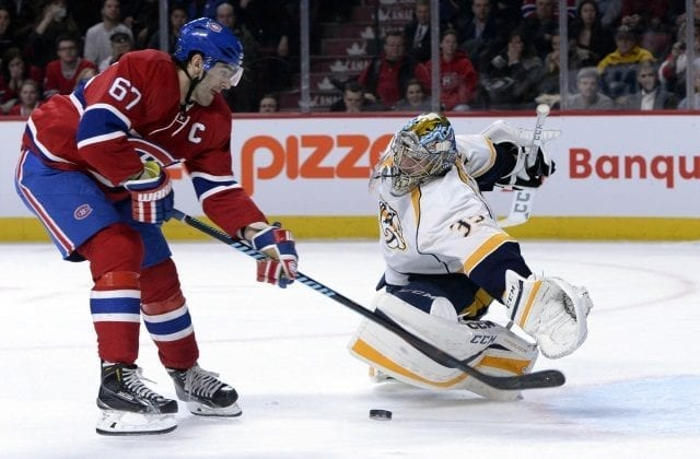 The Nashville Predators could be interested in Montreal Canadiens Max Pacioretty