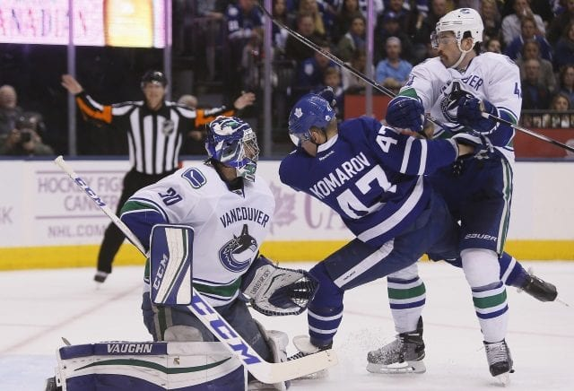 Erik Gudbranson could be a fit for the Toronto Maple Leafs.