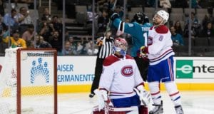 Carey Price out with a concussion. Shea Weber done for the season.