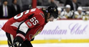 A potential Erik Karlsson trade to the Vegas Golden Knights came down to the wire on Monday.