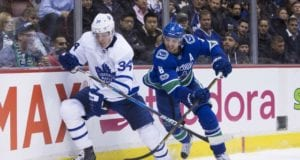 The Toronto Maple Leafs are one of the teams that has shown interest in Chris Tanev.