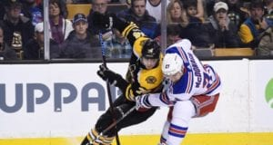 The Boston Bruins and New York Rangers could be talking about Ryan McDonagh