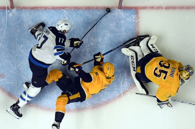 The Winnipeg Jets and Nashville Predators are two central division teams that could be buyers at the NHL trade deadline