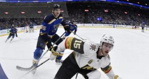 St. Louis Blues and Vegas Golden Knights