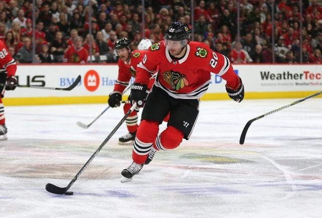 Now may not be the time for the Chicago Blackhawks to trade Brandon Saad.