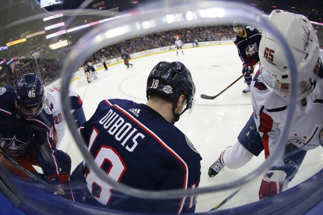 NHL Rookie Watch: Pierre-Luc Dubois was one of three rookies who struggled last month.