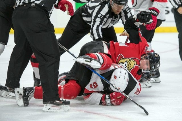 Alexandre Burrows suspended for ten games for an aggressor and kneeing Taylor Hall