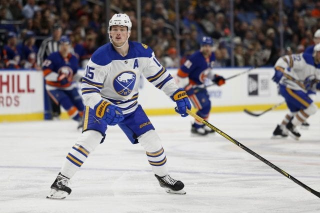 Sabres Jack Eichel to have an MRI today.