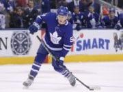 Toronto Maple Leafs Jake Gardiner is a target of Toronto fans.