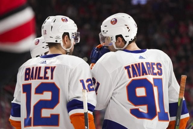Josh Bailey signing may not pay much role on John Tavares potentially re-signing.
