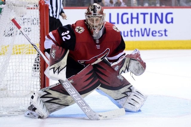 Arizona Coyotes will continue to talk with Antti Raanta about an extension