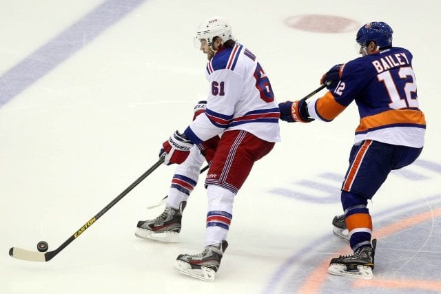Rick Nash and Michael Grabner held out. Josh Bailey and the New York Islanders closing in on a long-term deal.
