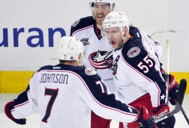 Columbus Blue Jackets won't trade Jack Johnson if they don't like the offers.