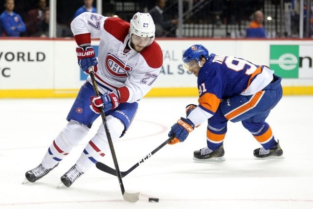 Alex Galchenyuk trade more likely at the draft than deadline. John Tavares not being traded