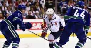 The Vancouver Canucks are closing in on re-signing defenseman Erik Gudbranson. Defenseman Ben Hutton could be on the move.