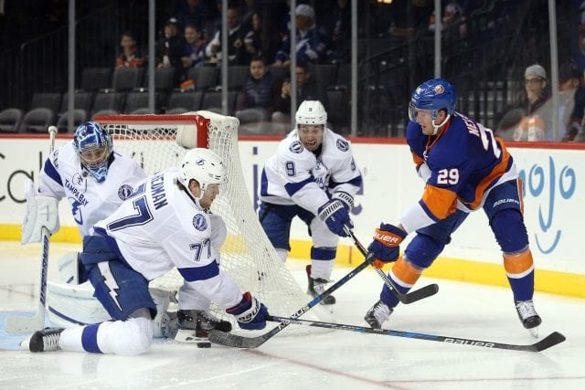 New York Islanders and Tampa Bay Lightning