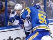 The Toronto Maple Leafs trade Nikita Soshnikov to the St. Louis Blues