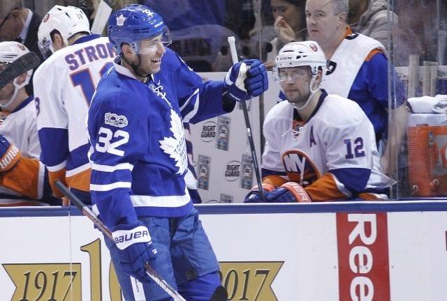 Toronto Maple Leafs GM Lou Lamoriello said Josh Leivo didn't ask for a trade.