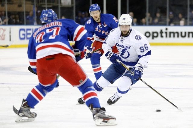 The Tampa Bay Lightning could put a package for both Rick Nash and Ryan McDonagh.