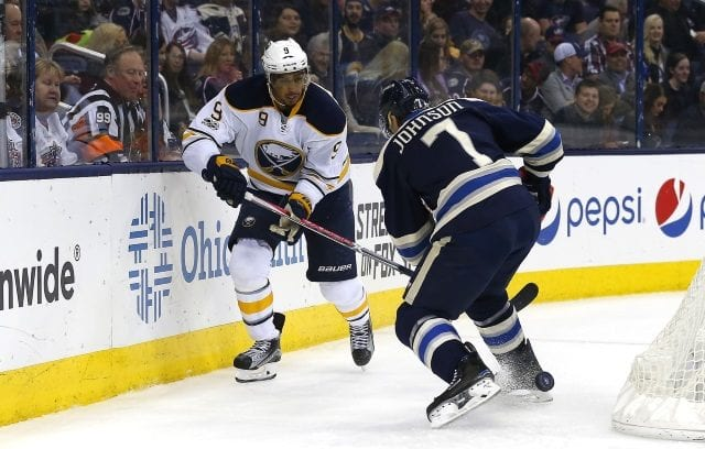 Evander Kane not thinking about a contract extension. The Blue Jackets could bring Jack Johnson back