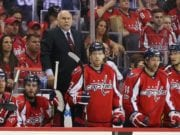 Barry Trotz's future with the Washington Capitals is uncertain.