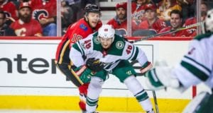 Jared Spurgeon out a month with hamstring injury. Kris Versteeg activated off the IR.