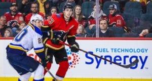The Calgary Flames have shut down Sean Monahan for the season.