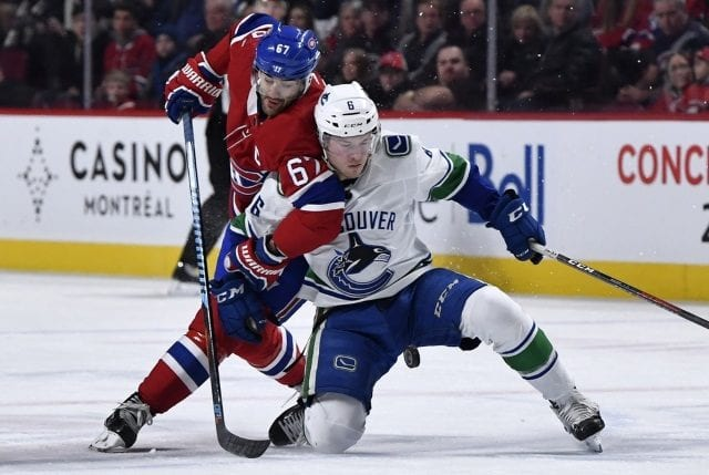 The asking price for Max Pacioretty will need to come down. A comparable for Brock Boeser's next contract.