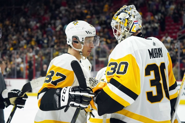 Matt Murray is ready to return to the lineup.