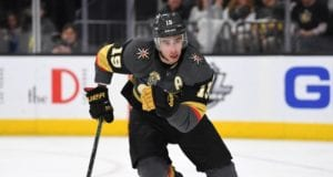 The Vegas Golden Knights expect Reilly Smith back before the start of the playoffs.