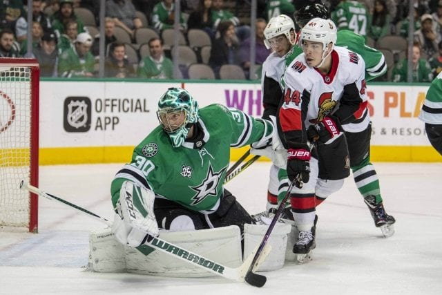 Ben Bishop will travel with the Stars.