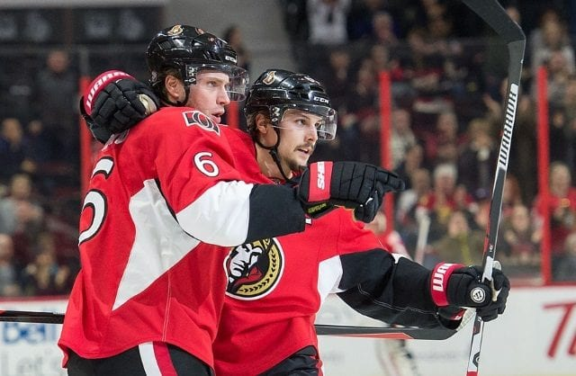 Ottawa Senators Bobby Ryan thought he and Erik Karlsson were going to be traded the day before the trade deadline.