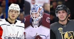 2018 NHL free agents - John Carlson, Jonathan Bernier and David Perron