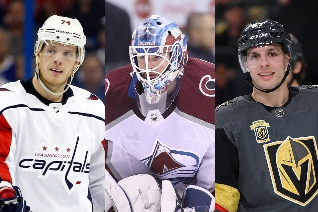 2018 NHL free agents - John Carlson, Jonathan Bernier and David Perron