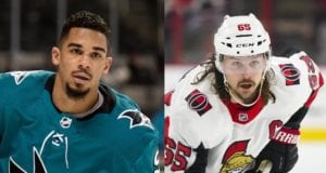 The San Jose Sharks and Evander Kane holding off contract talks. Teams that could be interested in Ottawa Senators defenseman Erik Karlsson.