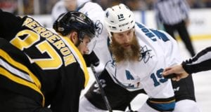 Patrice Bergeron could return for Game 5. Joe Thornton may not be up to game speed.